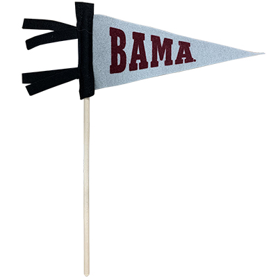 Bama Pennant On A Stick