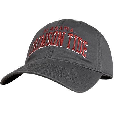 ALABAMA CRIMSON TIDE RELAXED TWILL CAP