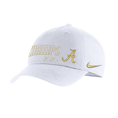 Alabama Script A National Champions Locker Room Cap