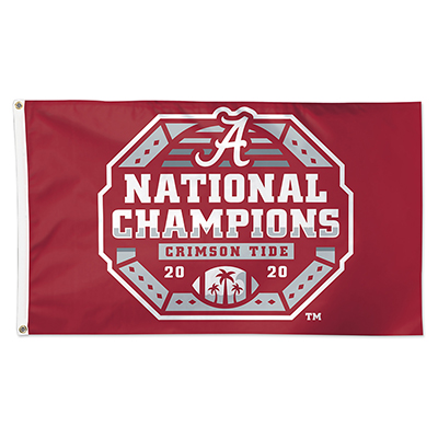 Alabama 2020 National Champions Deluxe Flag