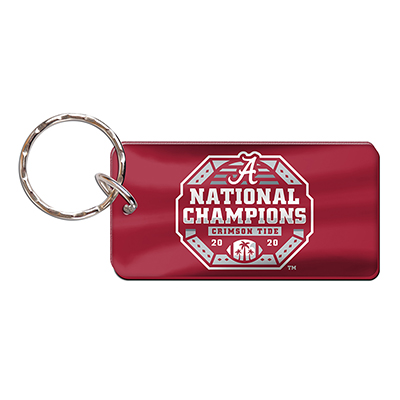 Alabama 2020 National Champions Acrylic Key Ring