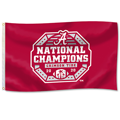 Alabama 2020   National Champions Football Durawave Flag