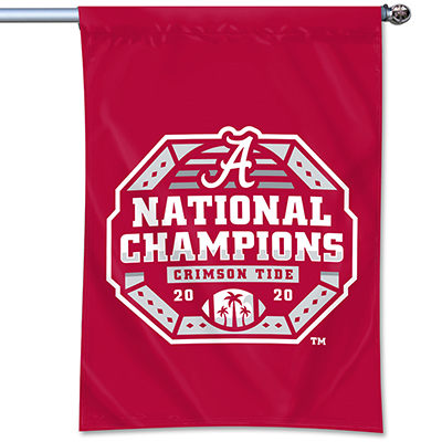 Alabama 2020  National Champions Football Durawave Banner