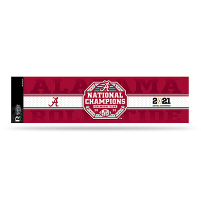 Alabama 2020 National Champions Bumper Sticker