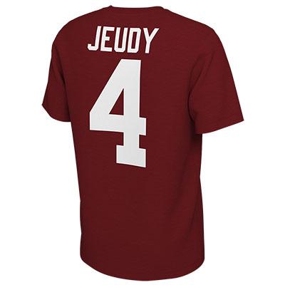 ALABAMA JERRY JEUDY #4 JERSEY T-SHIRT