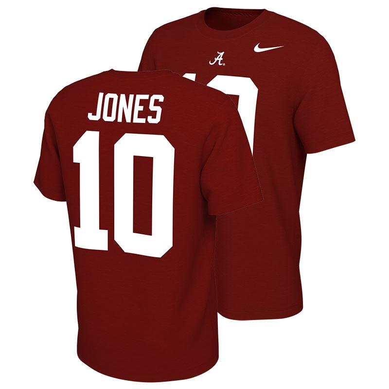 Alabama Mac Jones #10 Jersey T-Shirt