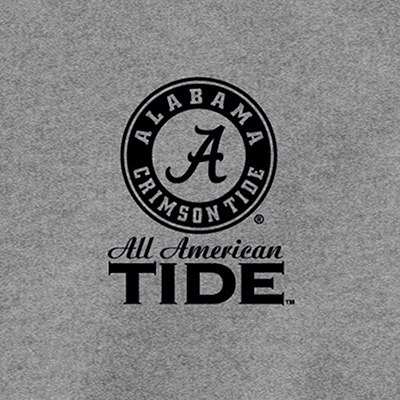 ALABAMA SCRIPT A ALL AMERICAN TRUCK WITH FLAG T-SHIRT