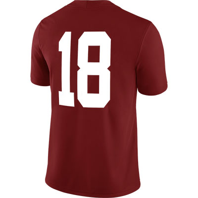 ALABAMA FOOTBALL HOME GAME JERSEY #18