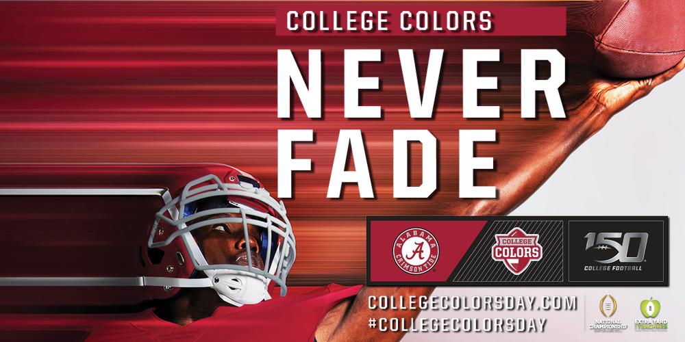 College Colors Never Fade #collegecolorsday