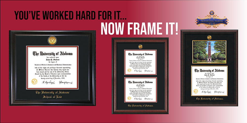 You've Worked Hard For It...Now Frame It!