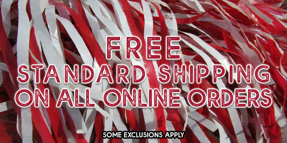 Free Standard Shipping on all orders. *excludes chairs, diploma frames, and panoramic prints