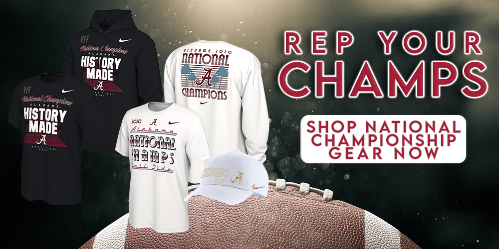 National Championship.  Purchase your Bama gear here while supplies last.