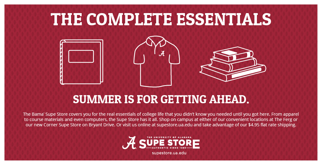 The complete essentials.  Summer is for getting ahead.
