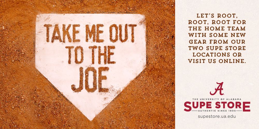 Take me out to the Joe! Let's Root, Root, Root for he Home Team with some new gear from our Two Supe Store locations or visit us online.
